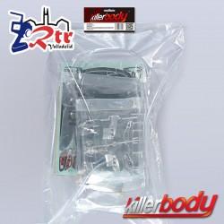 Carrocería Mitsubishi Lancer Evo X 1/10 Transparente 190mm