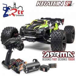 Arrma Kraton 1/5 Truggy Truck Brushless 8s 4x4 Verde