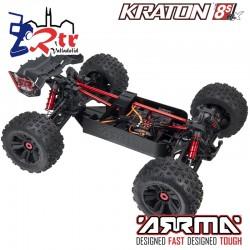 Arrma Kraton 1/5 Truggy Truck Brushless 8s 4x4 Rojo