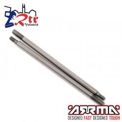 Ejes de amortiguador 2.5x75mm Arrma 2 Piezas AR330251
