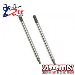Ejes de amortiguador 4x54mm Arrma 2 Piezas AR330510