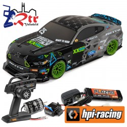Hpi Rs4 Sport 3 Rtr 2015 Ford Mustang Vaughn Gittin Jr Brushed 4wd