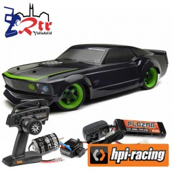 Hpi RS4 sport 3 1969 Mustang RTR Brushed 4wd