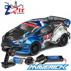 Maverick Strada rx Rally 1/10 Escobillas RTR