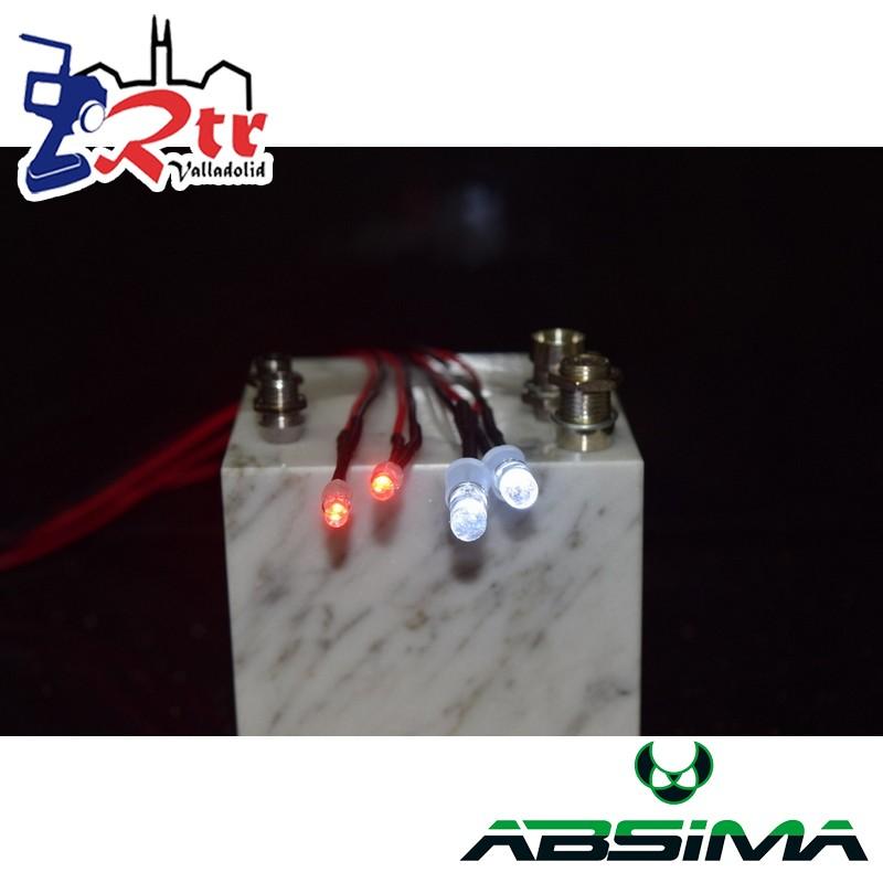 Luces Led 4 Bombillas Absima 2320041