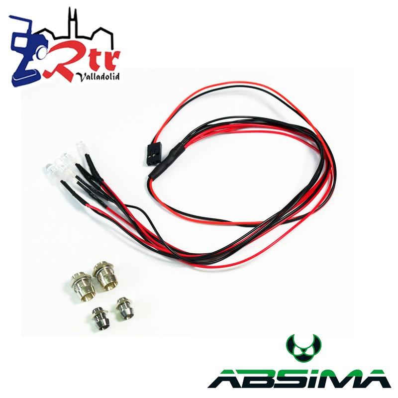 Absima Luces LED 4 Bombillas Absima 2320041