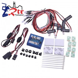Kit de Iluminacion RC con programas GoldRc 12LED