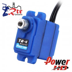 MicroServo Power HD TR-4 waterproof, piñonera metálica 2.6KG 0.10Seg