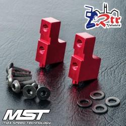 Bases de servo aluminio MST820125R