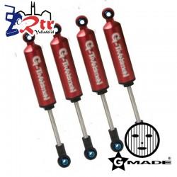 Gmade G-Transition Amortiguadores GM20501 80mm 1/10, 4 Unidades