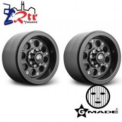 Llantas 2.2″ GT 02 beadlock wheels GM70234 2 Unidades