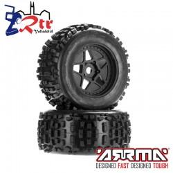 Juego de ruedas de neumático dBoots Backflip MT 17mm