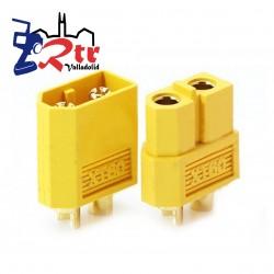 Conector Macho 1 Unidad, Hembra 1 Unidad XT60
