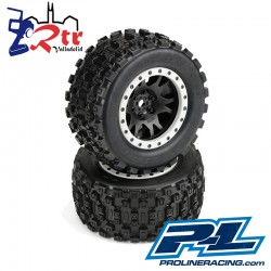Ruedas 24m Proline Badlands MX43 Pro-Loc All Terrain Tires X-Maxx