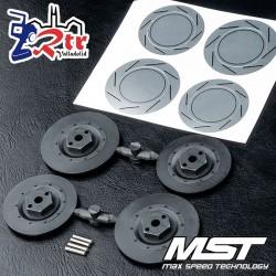 Hexágonos MST con disco de freno grande MST230041