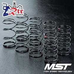 Juego de resortes de choque MST de 31 mm (8 piezas) MST820103