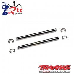 Pasadores de suspensión, 44 mm (2) con clips en E Traxxas TRA2640