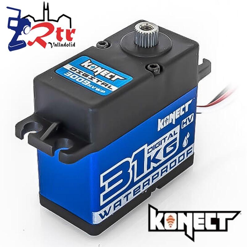 Servo 31 Kg 0,09 Seg Konect Piñoneria Metálica