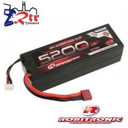 Lipo Robitronic 3s 5200 Mha 40C Caja dura HardBox