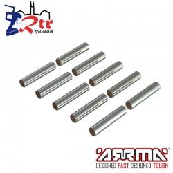 Pines Pasadores 2.5x12mm 10 Piezas Arrma AR713028