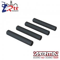 Tornillos prisioneros M5x30mm 4 piezas  Arrma ARA724530