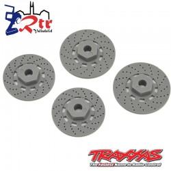 Discos de frenos hexagonales 12mm Traxxas 4tec TRA8356