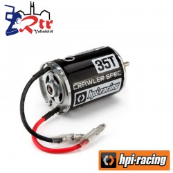 Motor Hpi Brushed 1/10 Escobillas 35T Crawler tipo 540