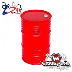 Tambor de aceite Plastico grande Rojo HobbyTech