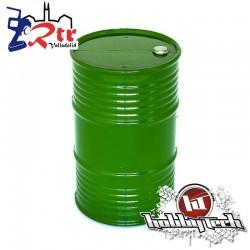 Tambor de aceite Plástico grande Verde HobbyTech