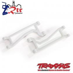 Brazo de suspensión superior delanteros o traseros Blancos Traxxas TRA8998