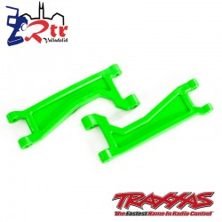 Brazo de suspensión superior delanteros o traseros Verdes Traxxas TRA8998G