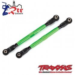 Links de suspensión Aluminio Verdes 119.80mm Traxxas TRA8997G