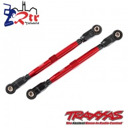 Links de suspensión Aluminio Rojos 119.80mm Traxxas TRA8997R