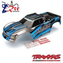 Carrocería cuerpo Pintado Azul Traxxas Maxx TRA8911A