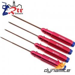 Herramientas Dynamite hexagonales métricos mecanizados DYNT2030