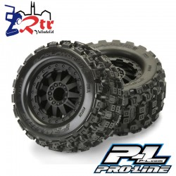 Ruedas 12mm Monster 1/10 Proline Badlands MX28 2.8
