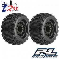 Ruedas 17mm Monster 1/10 Proline Badlands MX28 2.8 10125-18