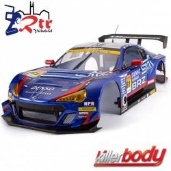 Carrocería Subaru BRZ R&D Sport 1/10 Pintada 195mm Azul