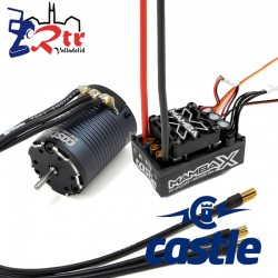 Castle Mamba X Crawler Edition Waterproft 25.2V 1900Kv Sensores Combo