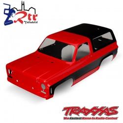 Cuerpo Chevrolet Blazer 1979 Rojo Traxxas TRX-4 TRA8130A