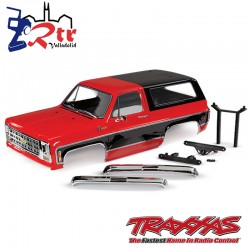 Cuerpo Completo Chevrolet Blazer 1979 Rojo Traxxas TRX-4 TRA8130R