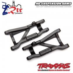 Brazos de suspensión traseros Negros de servicio pesado TRA2555