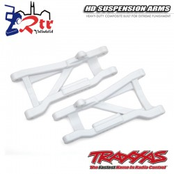 Brazos de suspensión traseros Blancos de servicio pesado TRA2555L