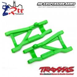 Brazos de suspensión traseros Verdes de servicio pesado TRA2555G