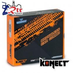 Brushless Waterproft 1/10 80A Motor 3660SL/3150Kv + Tarjeta Programadora Combo