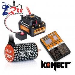 Brushless Waterproft 1/10 80A Motor 3660SL/3700Kv + Tarjeta Programadora Combo