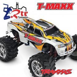 Cuerpo Traxxas T-Maxx Clasico 2.5 pegatinas BodyShell Carroceria Blanca