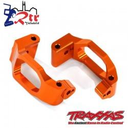 Bloques de ruedas, izquierda y derecha Aluminio Anaranjados Traxxas TRA8932T