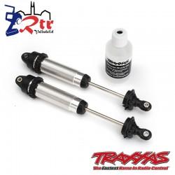 Amortiguadores GTR 139mm aluminio roscado Traxxas TRA8460