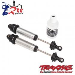 Amortiguadores GTR 134mm aluminio roscado Traxxas TRA8450